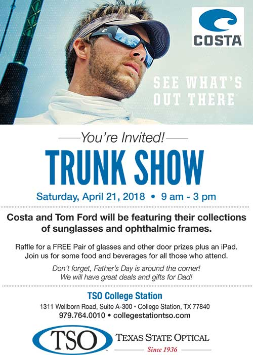 costa trunk show april 21st